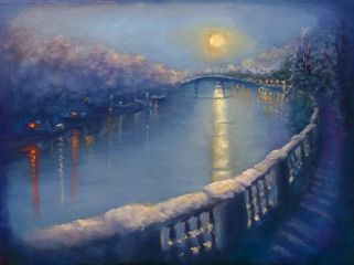 Snowy Embankment - Lee Campbell