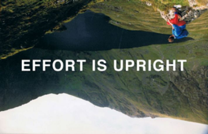 Effort is Upright; Gravity is God: a performance by Amelia Whitelaw: Image 0