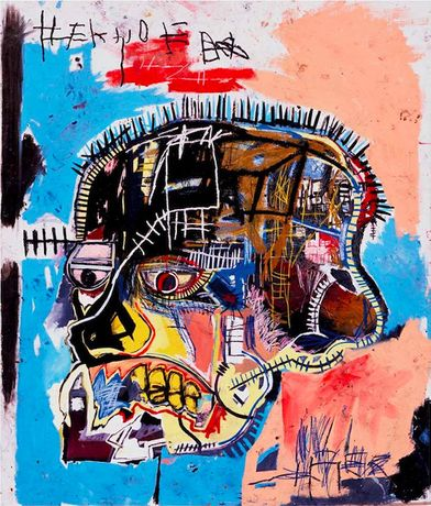 Jean-Michel Basquiat. Untitled, 1981. Acrylic and oilstick on canvas. 205.7 x 175.9 cm. The Eli and Edythe L. Broad Collection © Estate of Jean-Michel Basquiat. Licensed by Artestar, New York. Picture: Courtesy of Douglas M. Parker Studio, Los Angeles