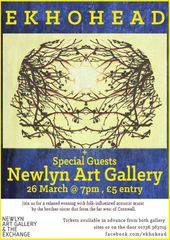 Ekhohead at Newlyn Art Gallery