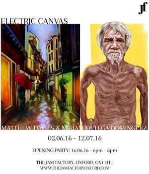Electric Canvas by Matthew Davies & Miriam Ortega Dominguez
