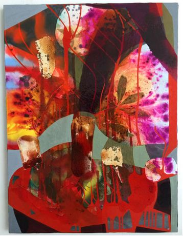 Electric Caresses; erika_ranee_bayswater_2016_mixed_media_on_canvas_48x36inche