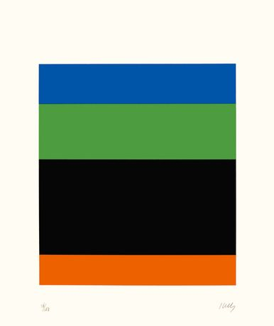 Ellsworth Kelly - Twelve colour prints from the artist's own collection: Image 0