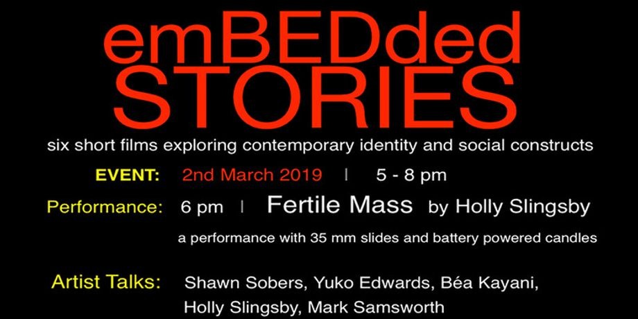 emBEDded stories: Closing Event with Performance & Artist Talks: Image 0
