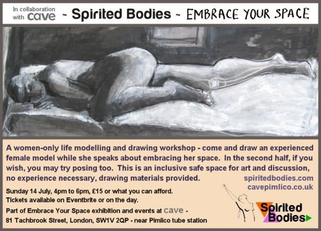 workshop Spirited Bodies poster