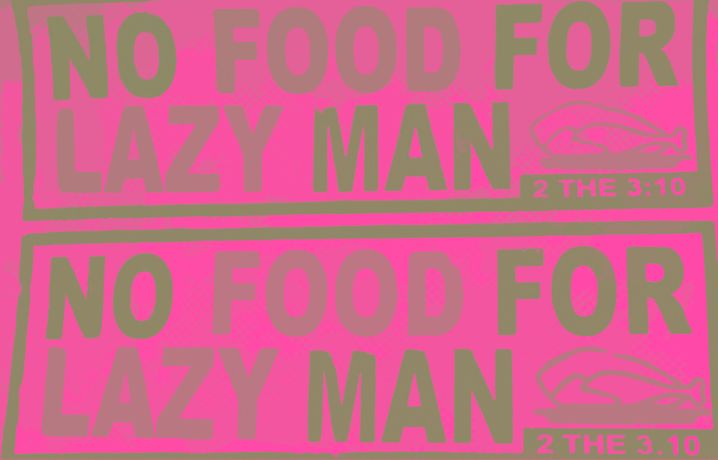 Emeka Ogboh - No Food For Lazy Man: Image 0