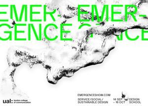 EMERGENCE: Service/Social/Sustainable Design – Launch Night