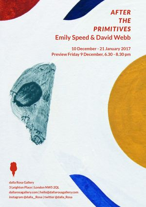 Emily Speed & David Webb. After the Primitives
