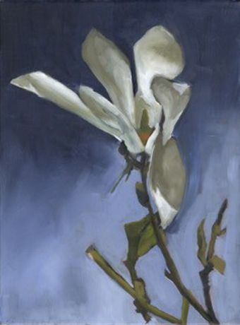 English flower paintings. Semi abstract landscape paintings: Image 0