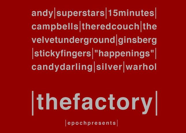 epoch Presents The Factory: Image 0