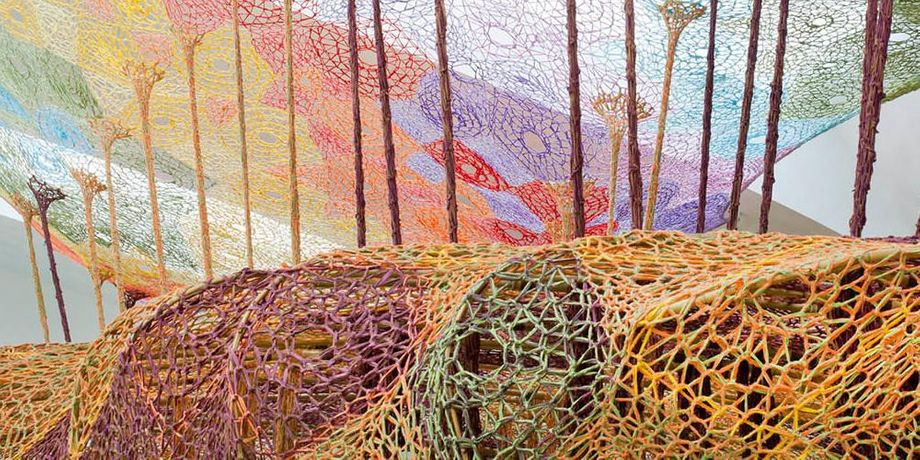 Ernesto Neto. The Serpent's Energy Gave Birth to Humanity