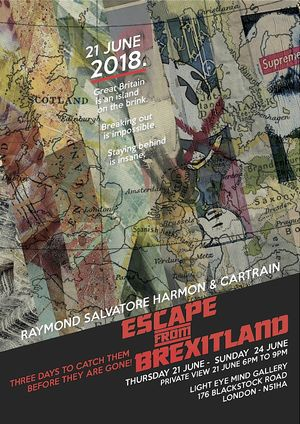 Excape From Brexitland official poster