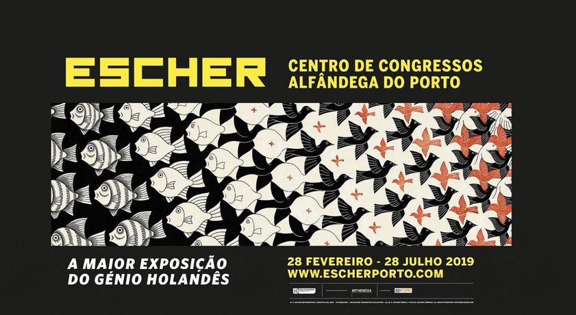ESCHER, The Dutch Genius in Porto