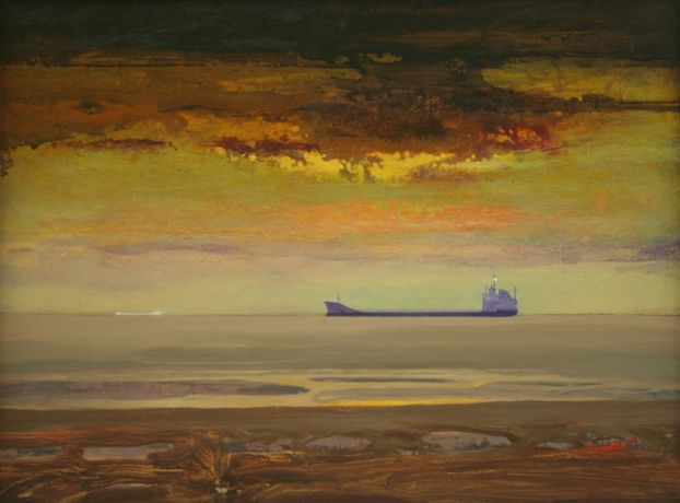 Francis Tinsley, Tanker in Estuary