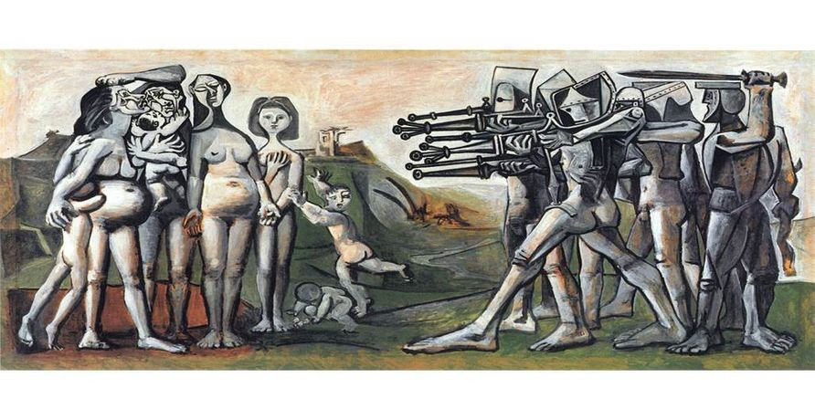 Pablo Picasso, Massacre in Korea, 1951, Musée National Picasso, Paris