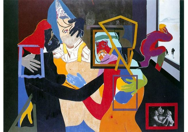 1.	R.B. Kitaj, An Early Europe, 1964, private collection