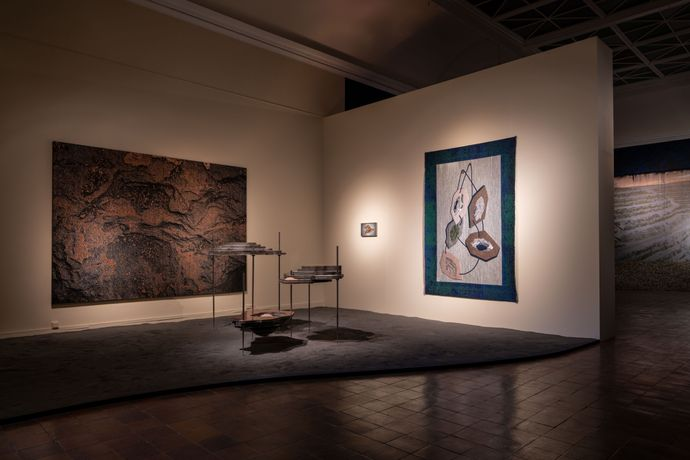 Installation view, Main gallery