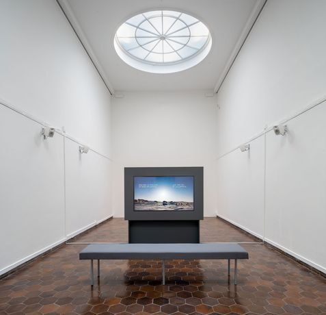 Installation view, Long gallery