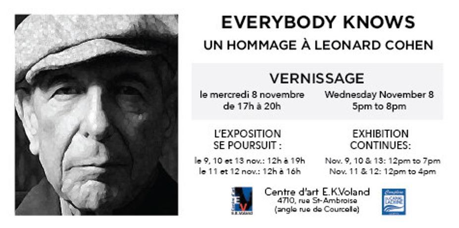 Everybody Knows: un hommage à Leonard Cohen: Image 0
