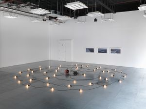 Everything Comes in Waves, installation view at La Scatola Gallery London ©Kentaro Yamada