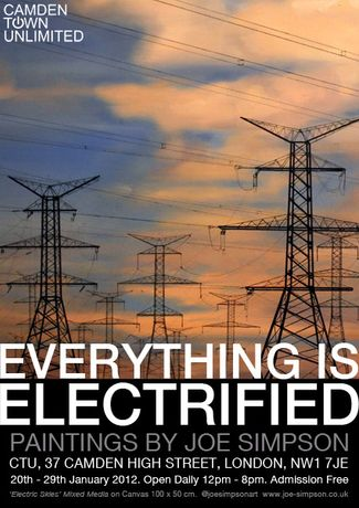 'Everything Is Electrified' by Joe Simpson: Image 0