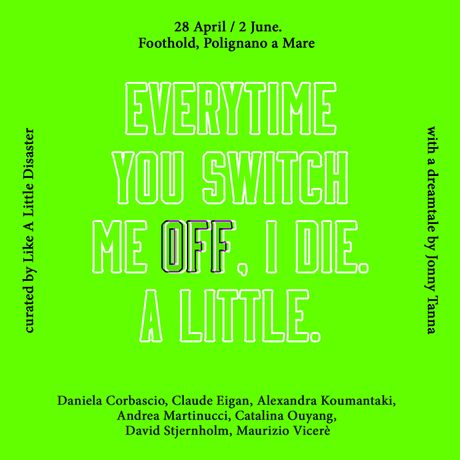 Everytime you switch me off, I die. A little.: Image 0
