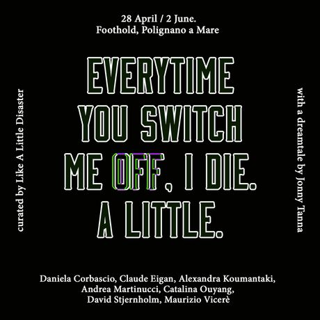Everytime you switch me off, I die. A little.: Image 1