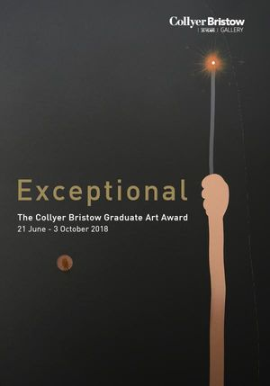 Exceptional, The Collyer Bristow Graduate Art Award