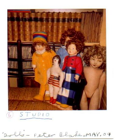 Exclusive new Exhibition - signed Polaroids by Sir Peter Blake: Image 0