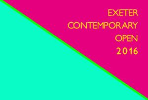 Exeter Contemporary Open 2016