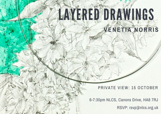 Exhibition of Layered Drawings by Venetia Norris: Image 0