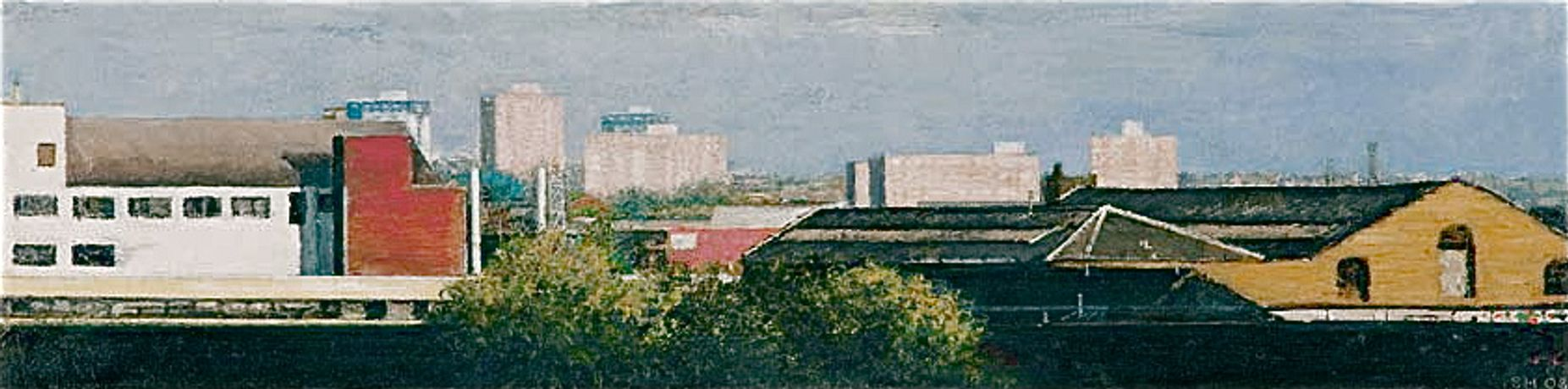 Exhibition of Urban Landscape Paintings by Simon Hopkinson at Bristol Folk House: Image 0