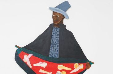 Lubaina Himid Naming the Money (detail) (2004) Courtesy the artist and Hollybush Gardens