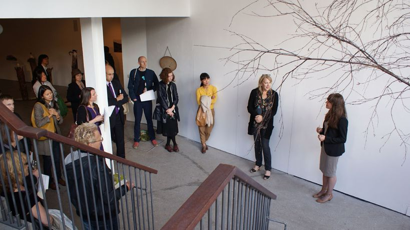EXHIBITION TOUR WITH ARTIST HILARY JACK: Image 0