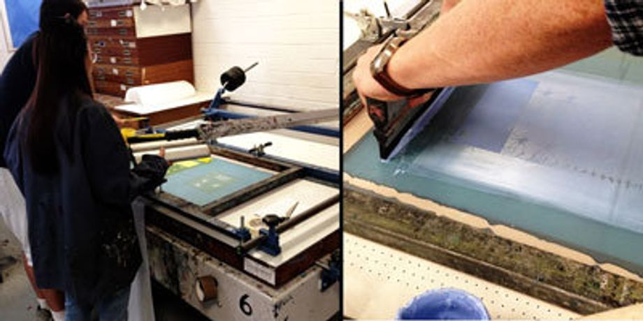 Direct screenprinting techniques and creating positives on transparencies using a number of different tools and techniques will be shown.