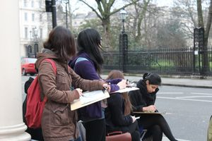 Explore And Draw: King's Cross Locality