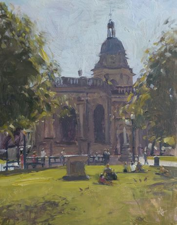 Exploring Birmingham: Location Sketching led by Wayne Attwood ARBSA: Image 0