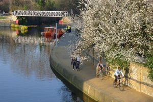 Exploring the River Lea by Bike & Gallery Tour