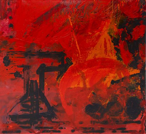 Ter Hell – Untitled, 190 x 220 cm, 2008, oil / canvas