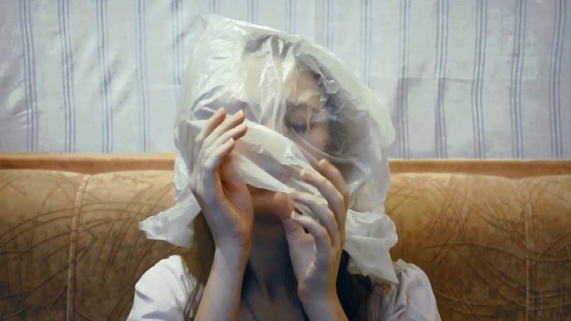 Anastasia Vepreva, Bag (video still), 2014. By permission of artist