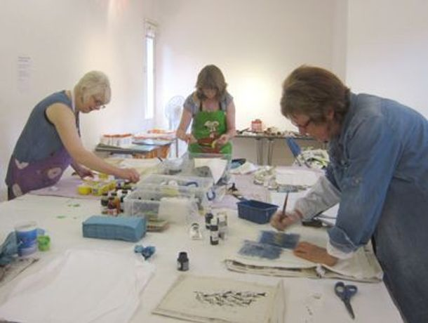 Fabulous Forests, Textile workshop with Stephanie Redfern RBSA: Image 0