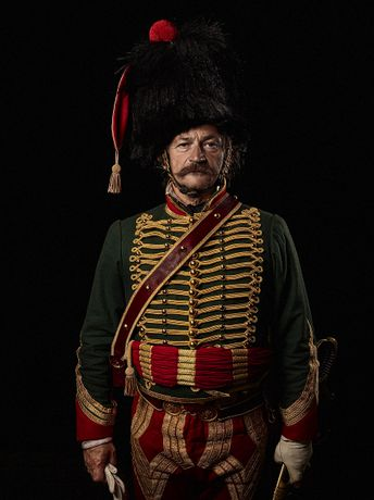 Capitaine, 7e Regiment de Hussards, France by Sam Faulkner, 2012 (pigment print)