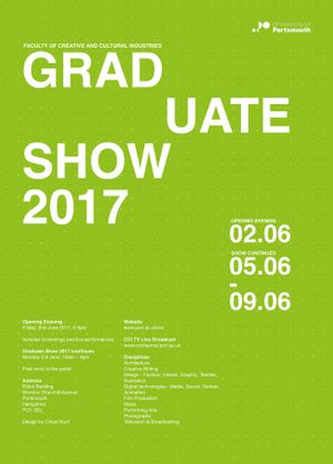 Faculty of CCI, UoP. Graduate Show 2017