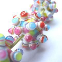 lamp worked glass bead jewellery by Amanda Glanville