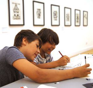 Family Art Day: Who's Afraid of Drawing Now?