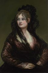 Image Detail: Francisco de Goya, Doña Isabel de Porcel, before 1805 © The National Gallery, London