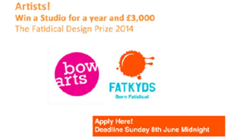 Fatidical Design Prize '14 with Bow Arts & Fatkyds: Image 0