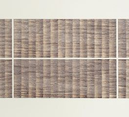 usan Michie, For a Composer, 2014, French sepia ink on paper, 54 x 135 cm. Image courtesy of the artist.