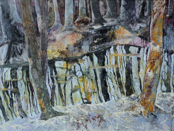 Jenny Grevatte, New Zealand Forest, Mixed Media, £4,500