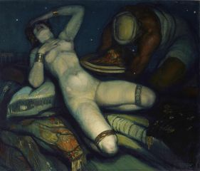 Salome, 1918, Oil on canvas, 141 x 165 cm, Courtesy Stair Sainty